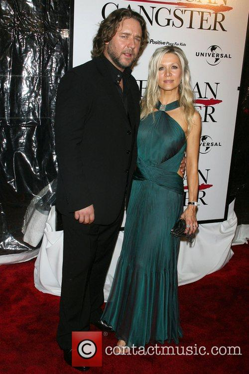 Russell Crowe and Danielle Spencer 1