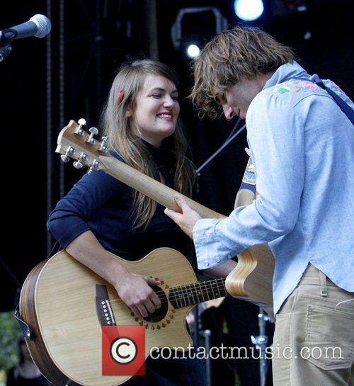 Angus & Julia Stone, Julia Stone Perform Live At Homebake 2007, Australia's Annual Outdoor Music Festival For 'homegrown' Bands and Held At The Domain. 9