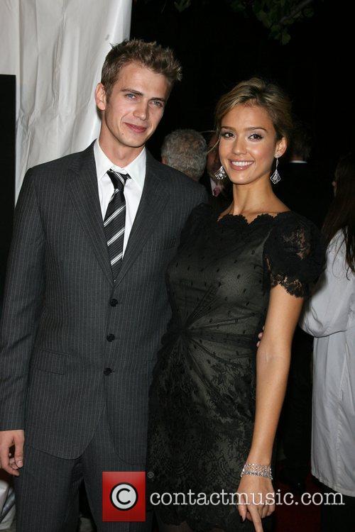 Hayden Christensen and Jessica Alba 3