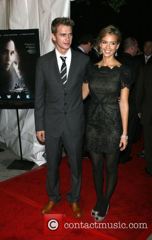 Hayden Christensen and Jessica Alba 8