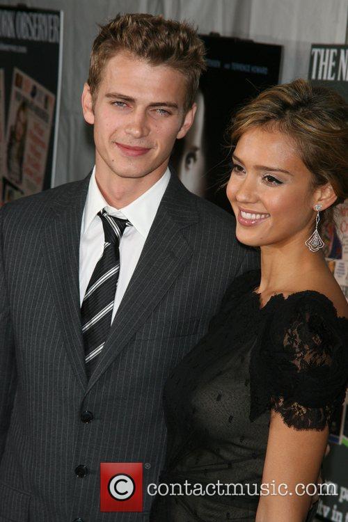 Hayden Christensen and Jessica Alba 1