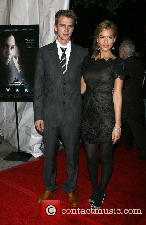 Hayden Christensen and Jessica Alba 10