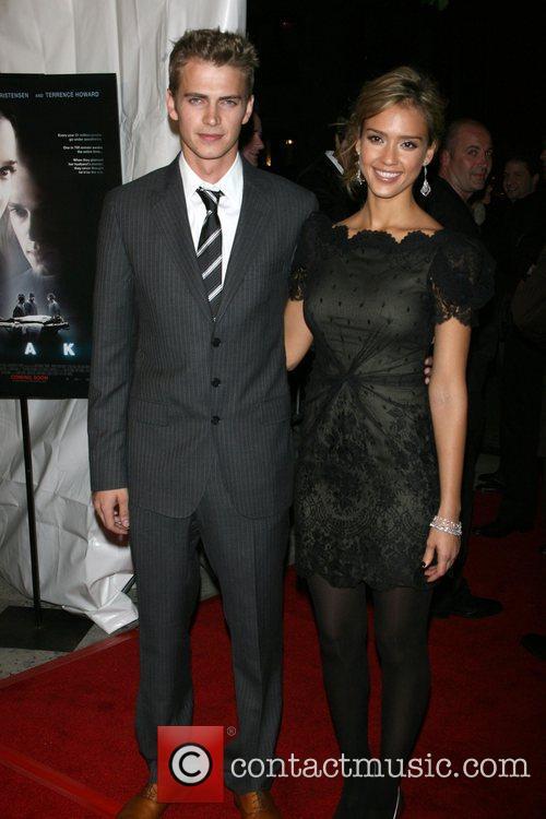 Hayden Christensen and Jessica Alba 7