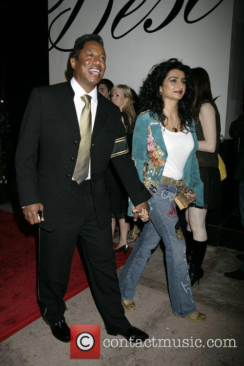 Jermaine Jackson and His Wife Halima Rashid 1
