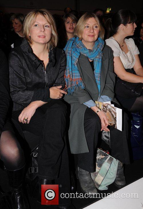 Jennifer Saunders, Victoria Wood and London Fashion Week