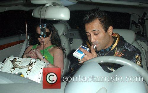 Britney Spears and Adnan Ghalib