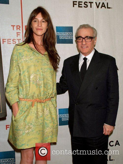 Charlotte Gainsbourg, Jane Birkin and Martin Scorsese