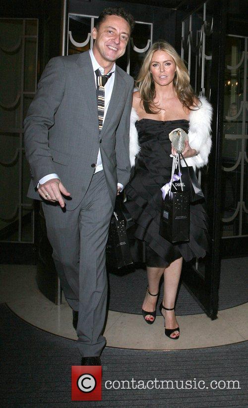 Jeremy Healy and Patsy Kensit