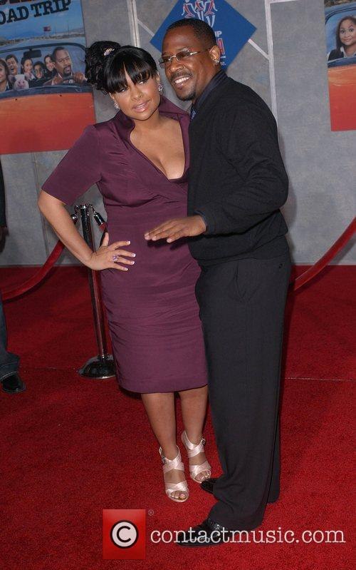 Raven Symone and Martin Lawrence
