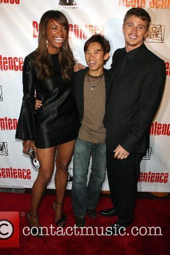 Aisha Tyler, James Wan and Garrett Hedlund