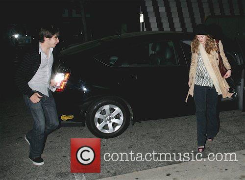 Justin Long and Drew Barrymore 3