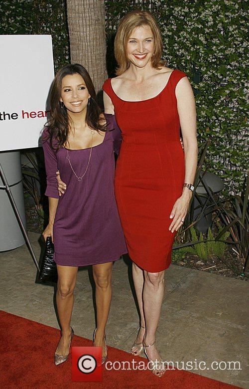 Eva Longoria and Brenda Strong