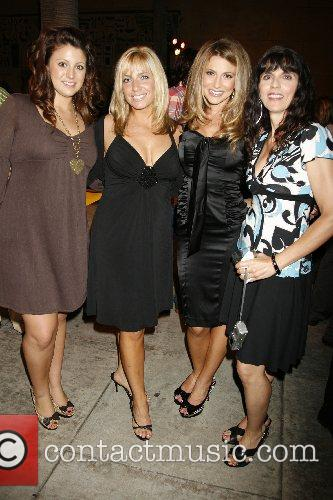 Cerina Vincent and Mom Marisa Vincent (right) With Family Members 11