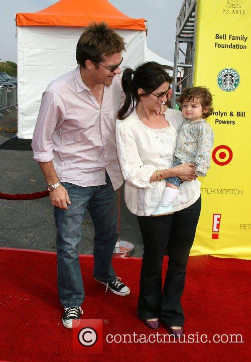 Jason Bateman, Amanda Anka and Family