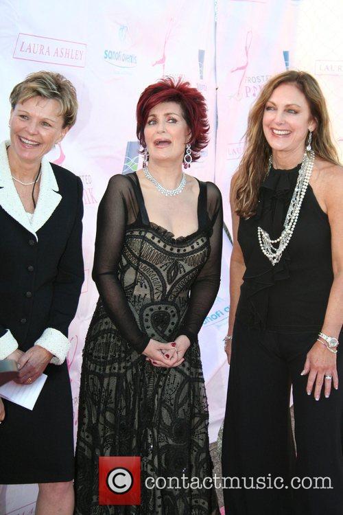Sharon Osbourne and Peggy Fleming