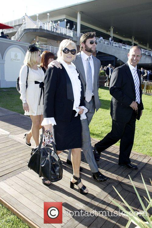 Hugh Jackman and Deborra Lee Furness At The Doncaster Day Racing Carnival At Royal Randwick Racecourse 1