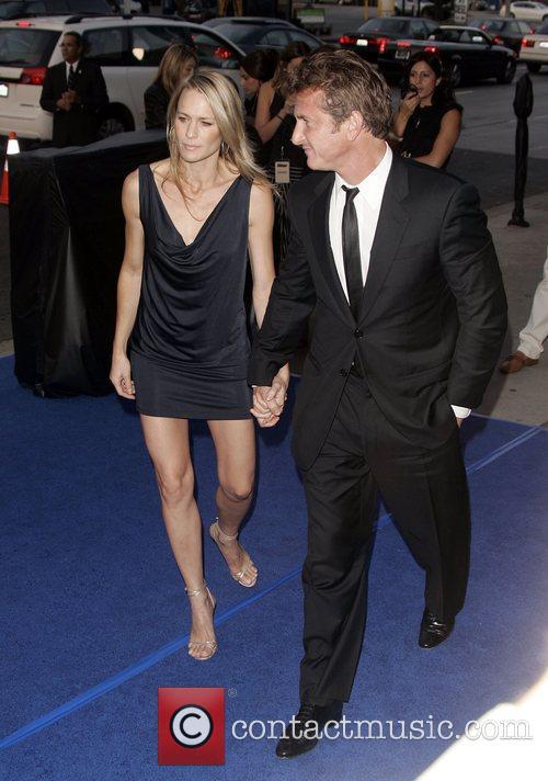 Sean Penn and Robin Wright Penn 2