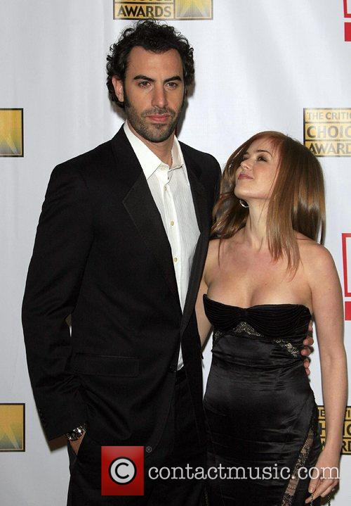Isla Fisher, Sacha Baron Cohen and Wedding Crashers