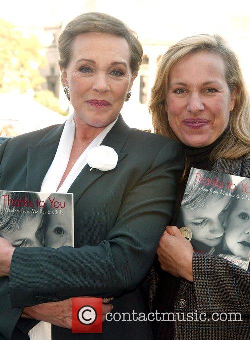 Julie Andrews and Her Daughter Emma Walton Hamilton
