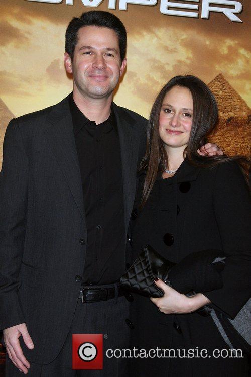 Simon Kinberg, Molly Kinberg and Ziegfeld Theatre