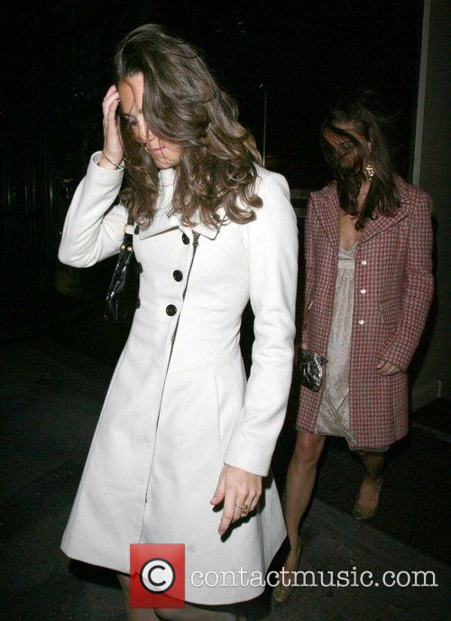 Kate Middleton, Her Sister Pippa Leaving Kitts Nightclub and On Her 26th Birthday. 3