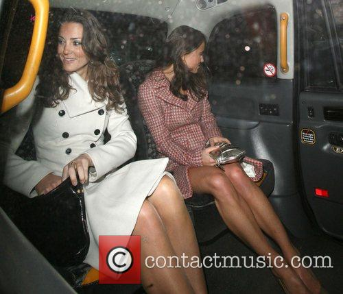 Kate Middleton, Her Sister Pippa Leaving Kitts Nightclub and On Her 26th Birthday. 2
