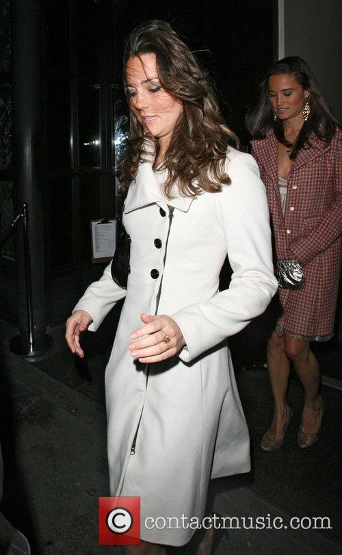 Kate Middleton, Her Sister Pippa Leaving Kitts Nightclub and On Her 26th Birthday. 5