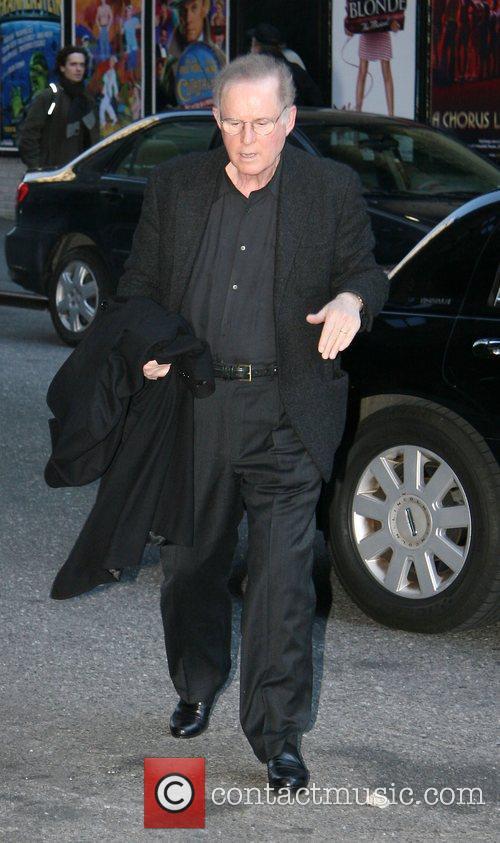 Charles Grodin and David Letterman