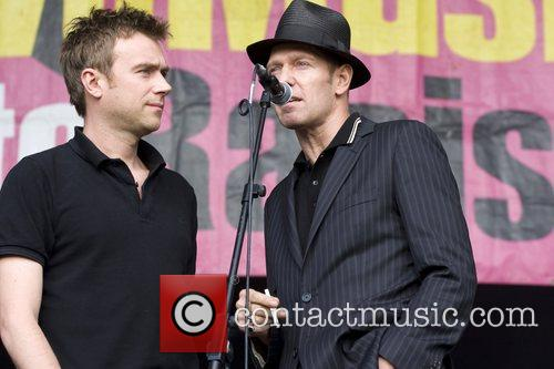 Damon Albarn and Paul Simonon 6
