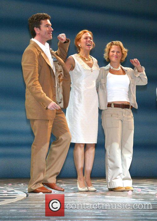 Christopher Shyer, Carolee Carmello and Carey Anderson