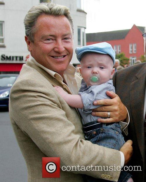Michael Flatley, His Son and Michael Jr Arrive For The Launch Of The Sligo Live Festival 2007