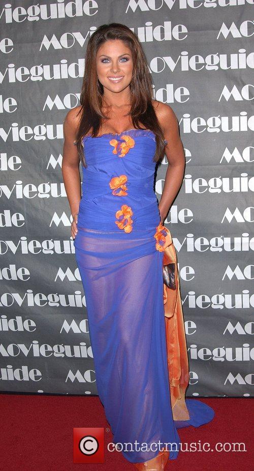 Nadia Bjorlin, Movieguide Faith And Value Awards 2008 and Beverly Hilton Hotel 1