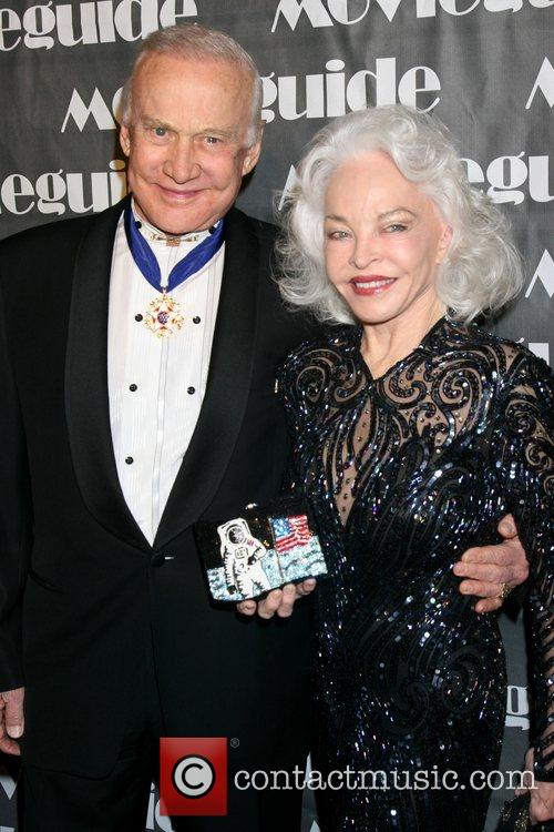 Buzz Aldrin, Lois Aldrin, Movieguide Faith And Value Awards 2008 and Beverly Hilton Hotel 3