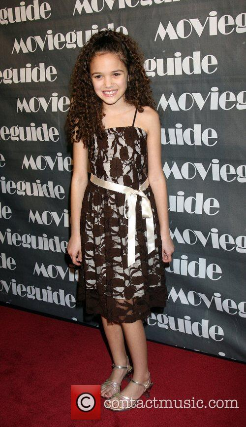 Madison Pettis, Movieguide Faith And Value Awards 2008 and Beverly Hilton Hotel 2