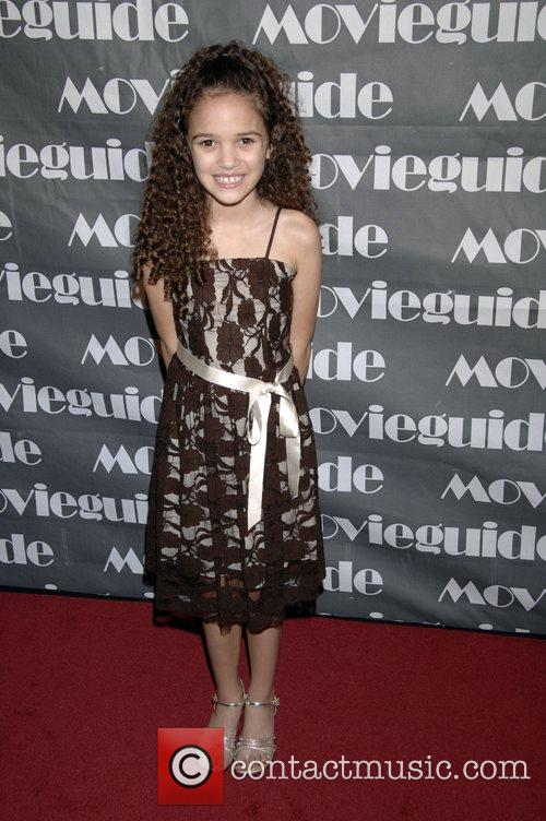 Madison Pettis, Movieguide Faith And Value Awards 2008 and Beverly Hilton Hotel 1