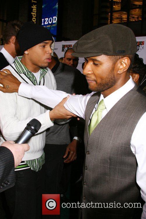 Chris Brown and Usher 1