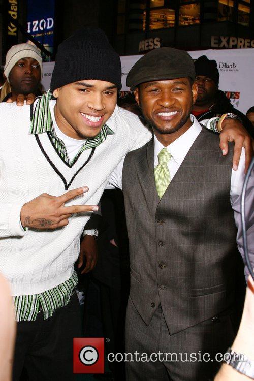 Chris Brown and Usher 6