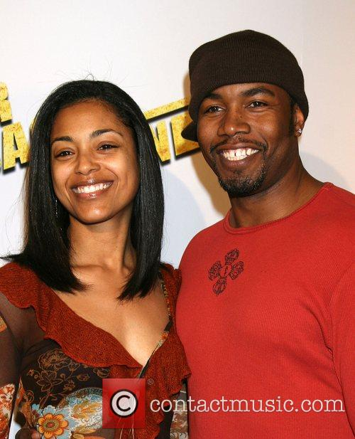 Michael Jai White and Courtenay Chatman