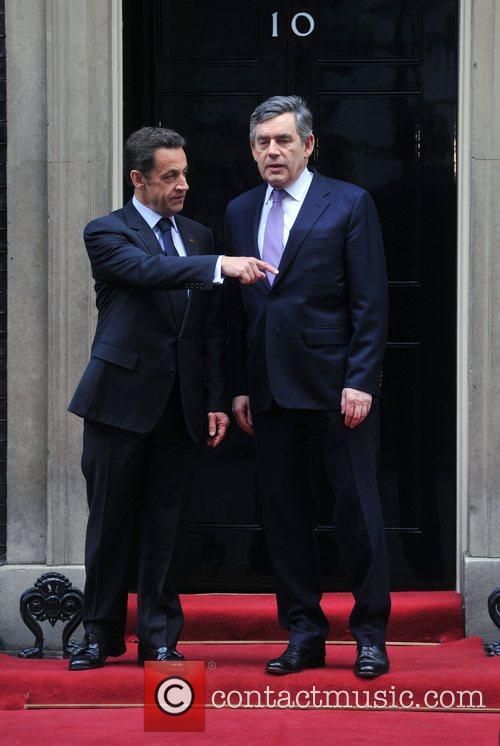 Nicolas Sarkozy and 10 Downing Street