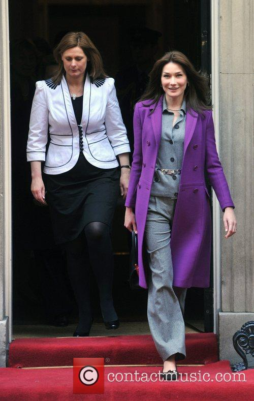 Sarah Brown, Carla Bruni and 10 Downing Street 4