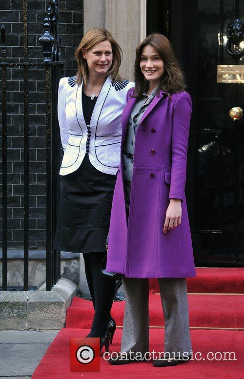 Sarah Brown, Carla Bruni and 10 Downing Street 5