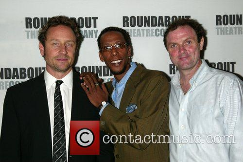 Sam Robards, Ron Cephas Jones and Boris Mcgiver
