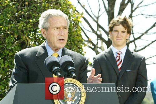 George W Bush and White House 2