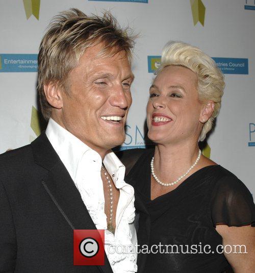 Dolph Lundgren and Brigitte Nielsen 1