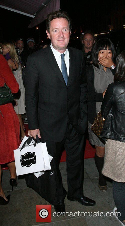 Piers Morgan and Quentin Tarantino
