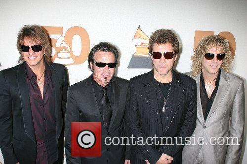 Richie Sambora, Alicia Keys, Bon Jovi and Jon Bon Jovi 2