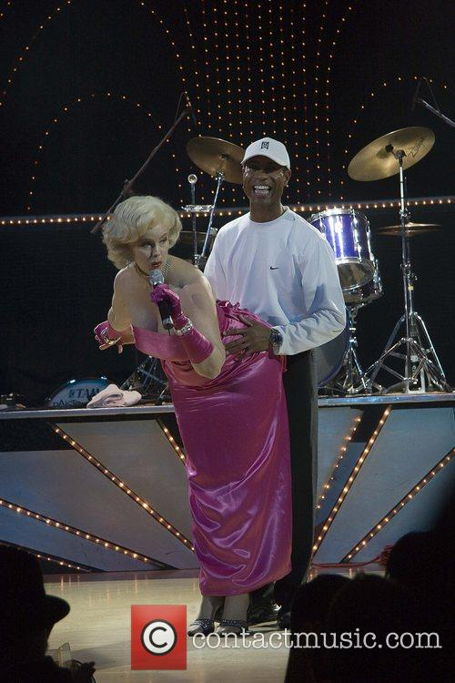 Marilyn Monroe Impersonator, Marilyn Monroe and Tiger Woods 6