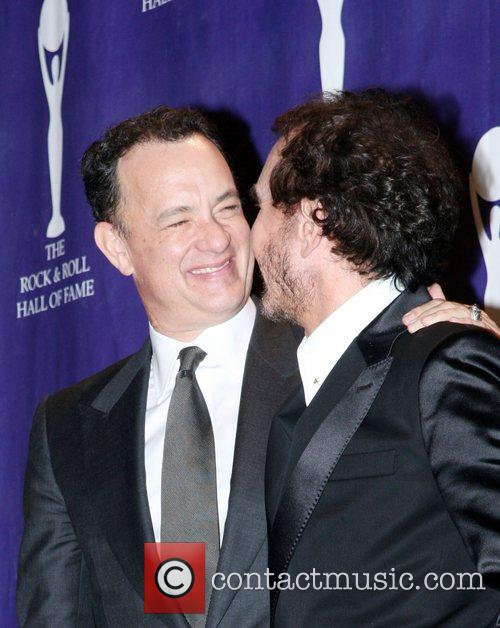 Tom Hanks and Rock And Roll Hall Of Fame 1