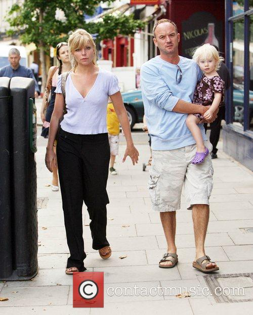 Samantha Janus, Two Children Benjamin and Lily-rose Before Returning To The Bbc Studios Where She Plays Ronnie Mitchell In 'eastenders' 1