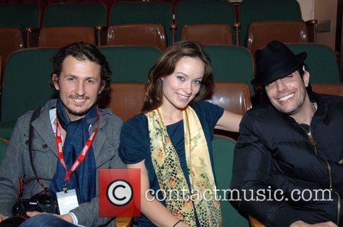 Tao Ruspoli, Olivia Wilde and Shawn Andrews